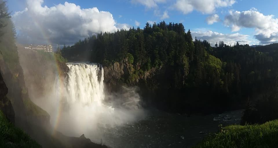 Snoqualmie Falls, Washington's largest waterfall