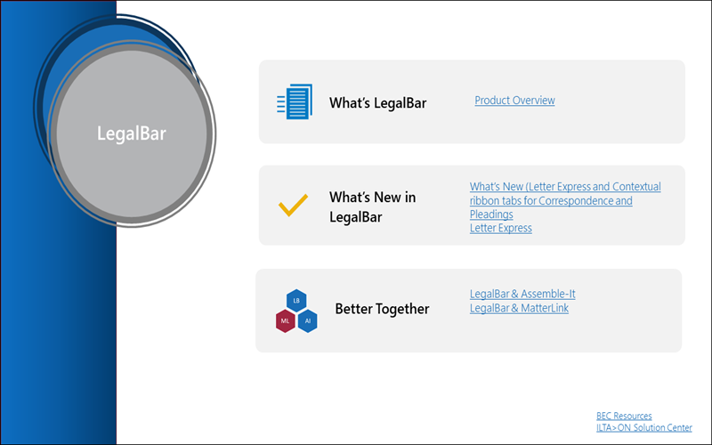 LegalBar Document Formatting
