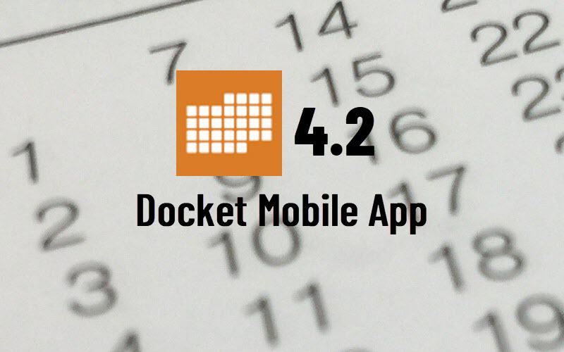 Docket Enterprise Mobile Application