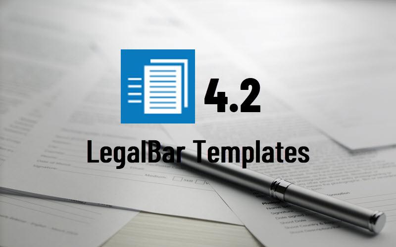 LegalBar Templates