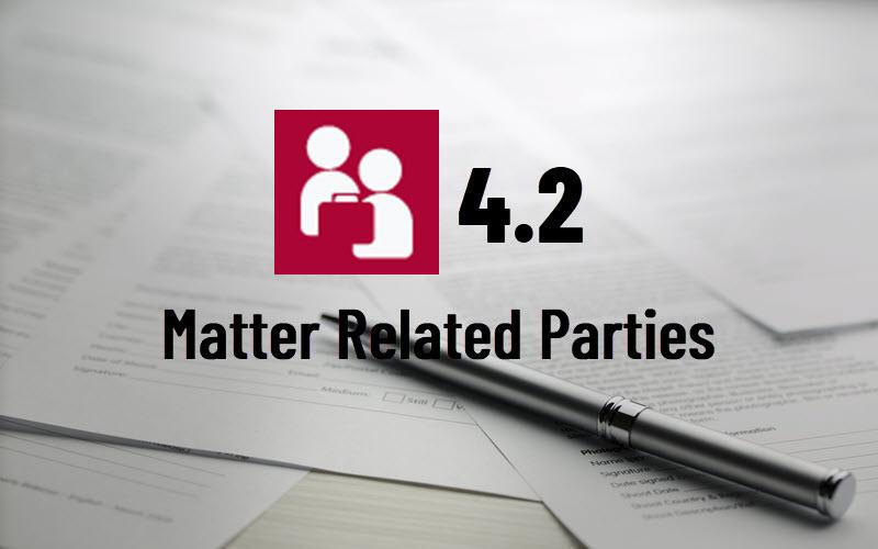 MatterLink Related Parties