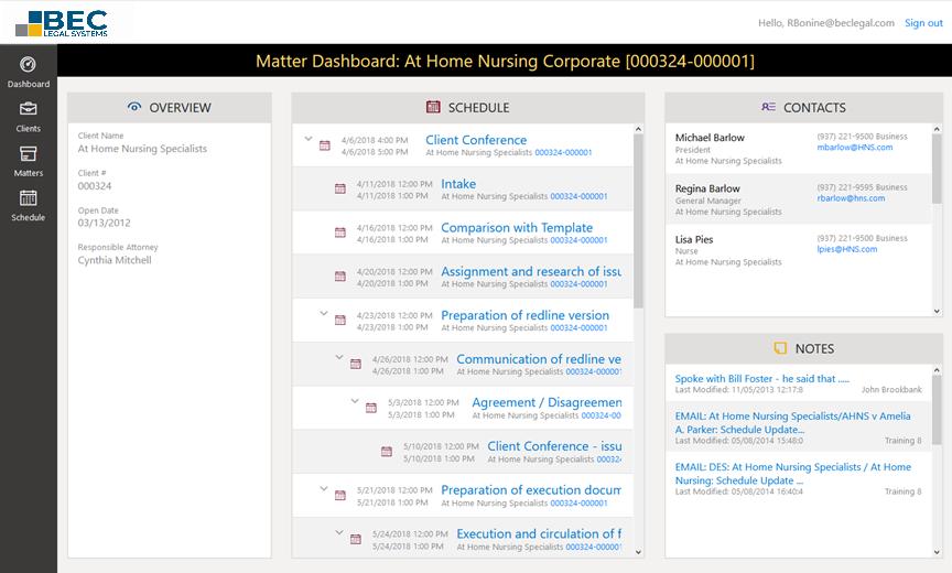 MatterLink Web Matter Dashboard